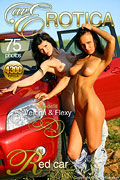 avErotica gallery - Red car - 75 photos - Flexy and Verona