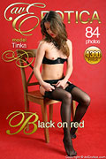 avErotica gallery - Black on red - 84 photos - Tinka