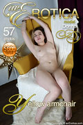 avErotica gallery - Yellow armchair - 57 photos - Donna