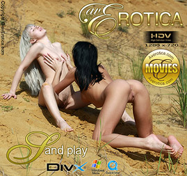 avErotica movie - Sand play - Angie and Devi