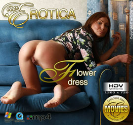avErotica movie - Flower dress - Alice