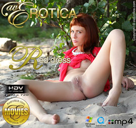 avErotica movie - Red dress - Renata