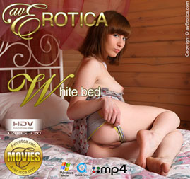 avErotica movie - White bed - Renata
