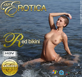 avErotica movie - Red bikini - Cecelia