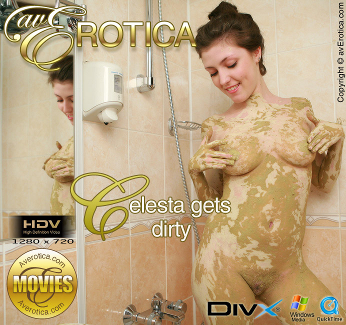 Celesta gets dirty