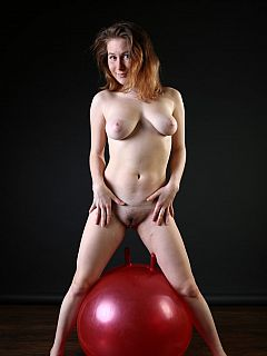 Red ball, #9